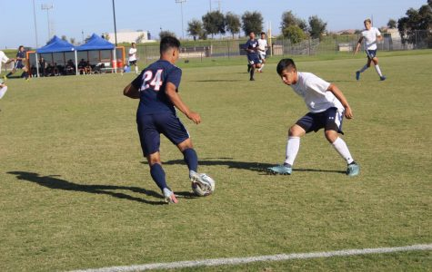 Men's soccer clinches last-minute goal to win over Clovis