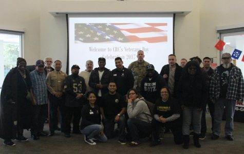 Veterans attend event hosted by The Veteran's Resource Center in honor of them.