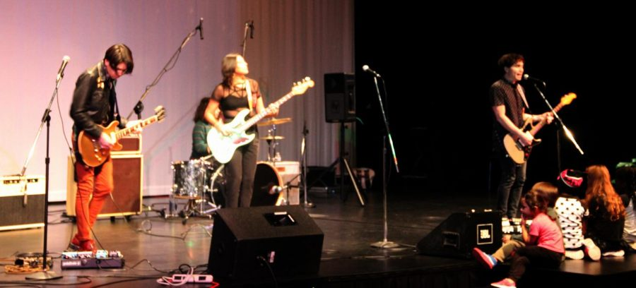 The band Scatter Their Own performs at the Native Night Concert at Cosumnes River College on Nov. 17.