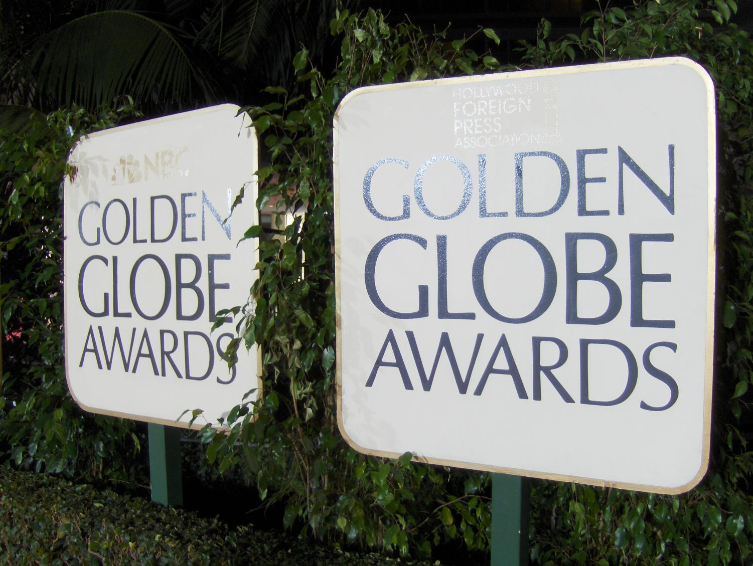 Female actresses acknowledge sexual harassment at the Golden Globe Awards show.