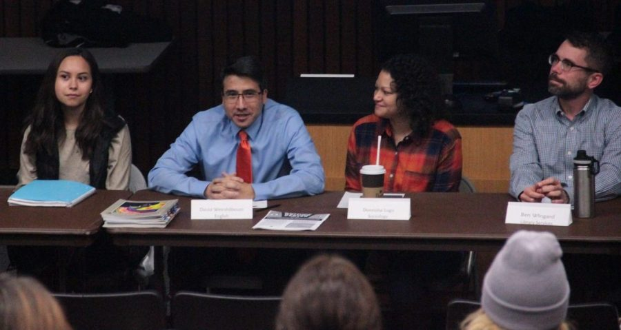 Panel offers tips for success to incoming students