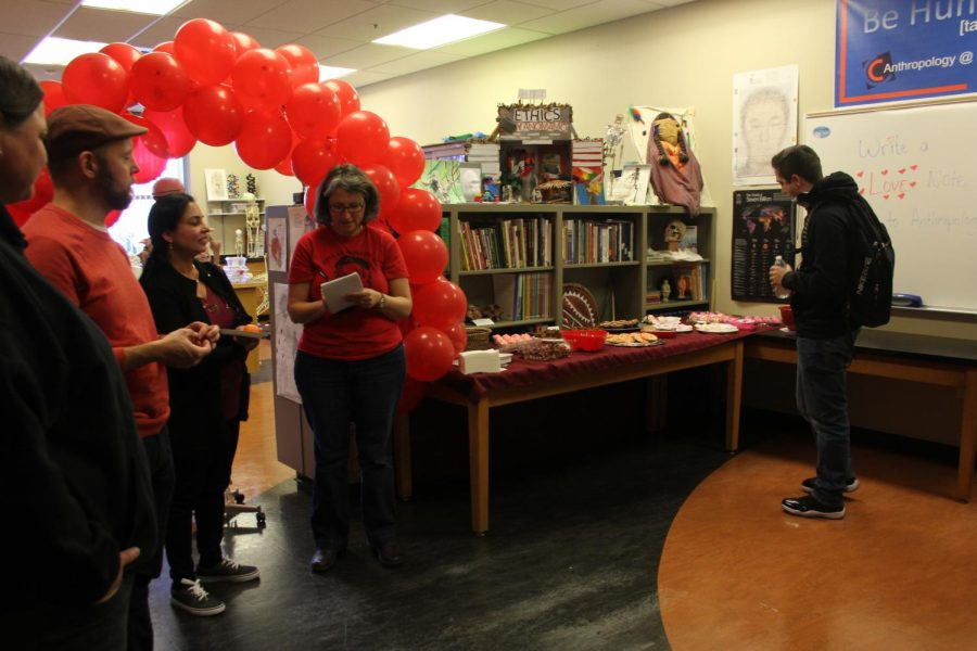 Anthropology department hosts celebration of Darwin and Valentine's Day