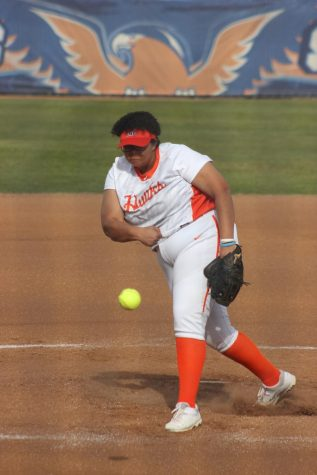 Hawks softball get shut down by strong Delta team
