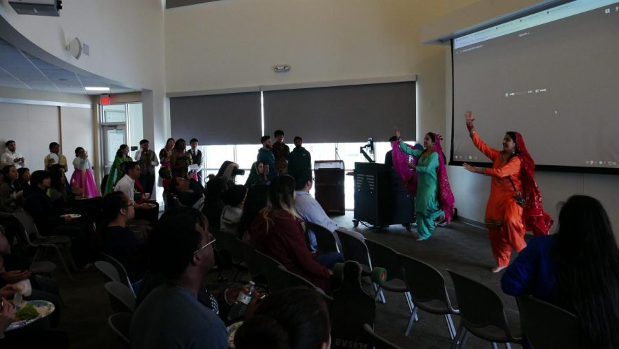Students performed dances and recited poetry to a room full of spectators on Feb. 11.