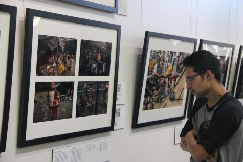 Photo professor exhibits project at art gallery