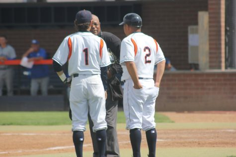 Men's baseball unable to secure the win in ninth inning, give up three runs
