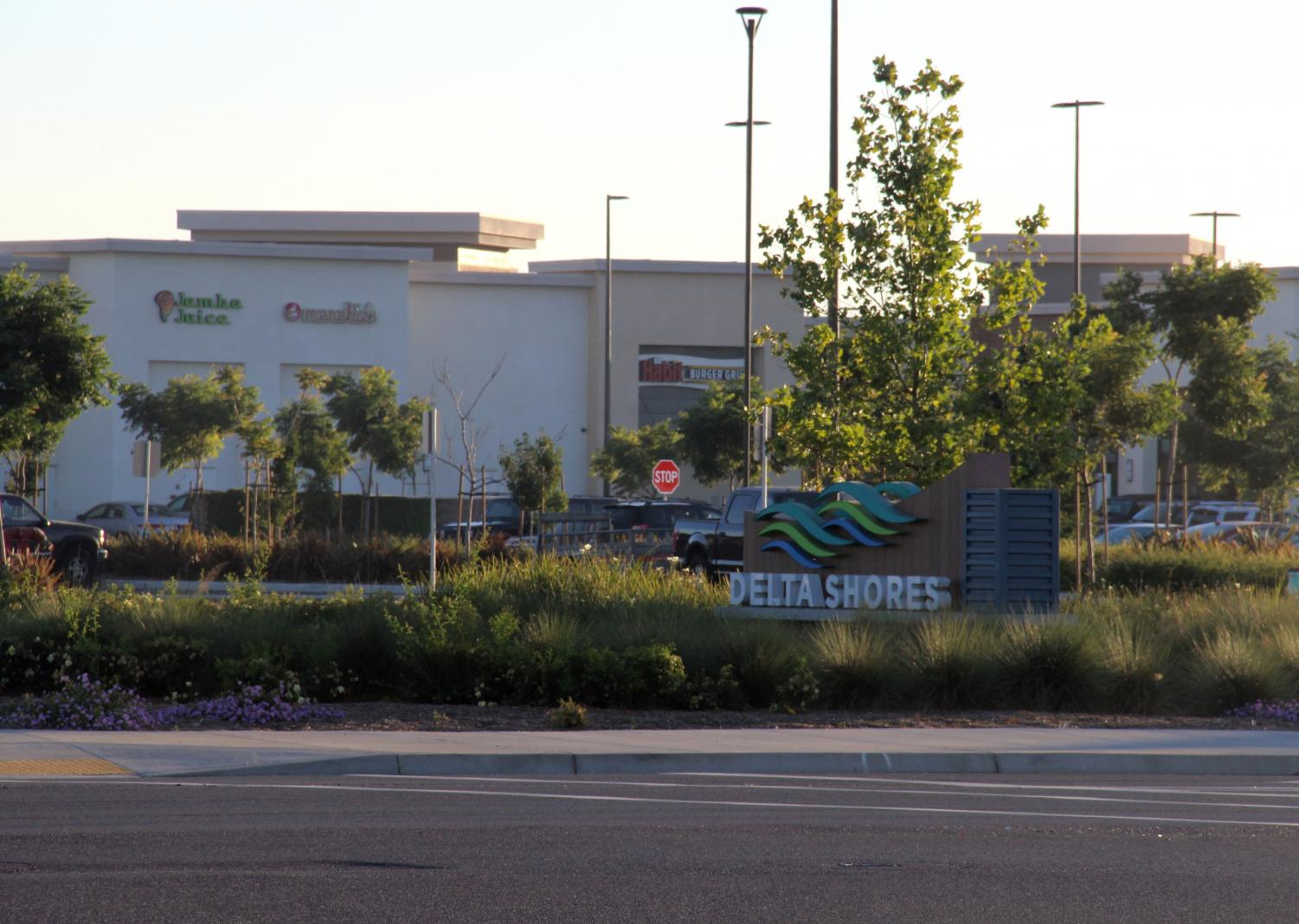Delta Shores features 69 new businesses,  including large retailers, restaurants, and a movie theater.
