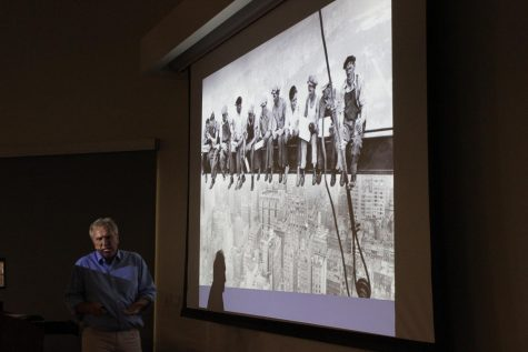 Professor delivers lecture on contraception for Women's History Month