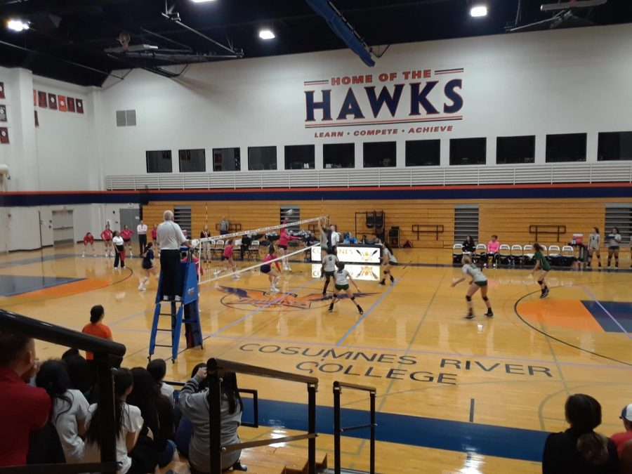 The Hawks defeated the Diablo Valley Vikings at home on Oct. 5.  The Hawks have struggled in conference play this season and this was their first victory in conference.