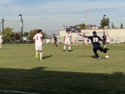 Clutch free kick leads Hawks' playoff win over Santa Rosa