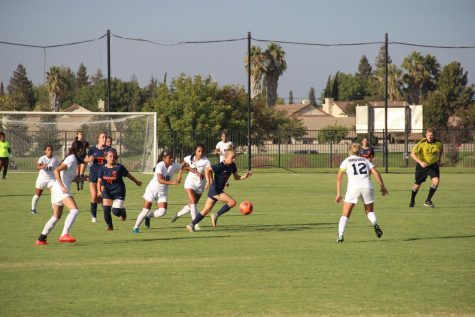 Women's soccer shuts out Butte college 2-0