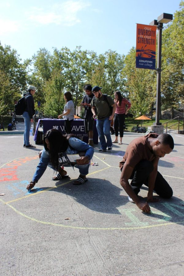 Chalk it Up event brings awareness to domestic violence