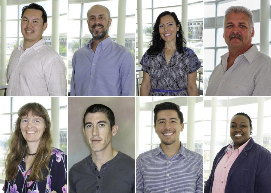 Several faculty members began their first semester on campus this fall.