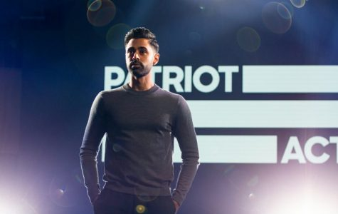 'Patriot Act' is engaging but light on the laughs