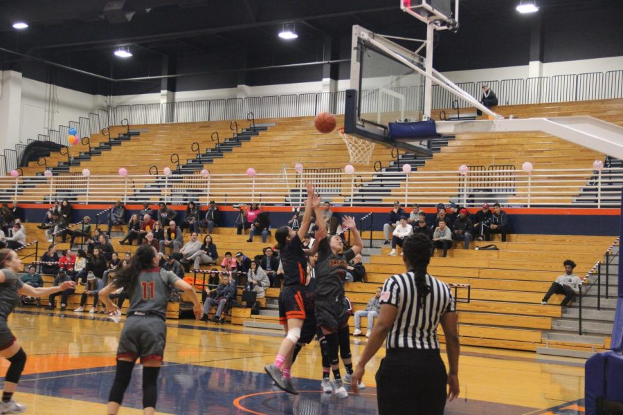 The women's basketball team played against the Sacramento City College Panthers on Tuesday.