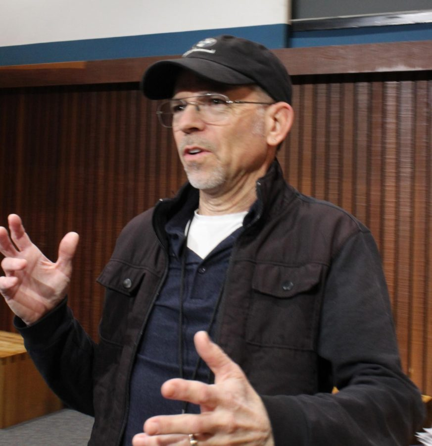 Screenwriter brings experience to classroom