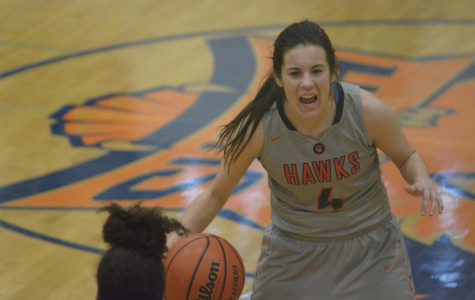 Hawks point guard leaves her mark on program with 1,000 career points