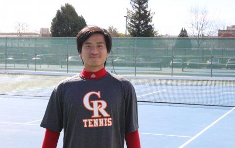 Freshman Kien Dang has started been a force early in the season for the Hawks with a 4-1 record in singles matches. Dang immigrated from Viet Nam in 2016 and his main focus at CRC is to transfer to the nursing program at Sac State.