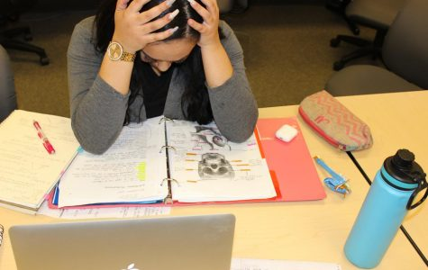 Symptoms of being overworked cause students to feel burned out