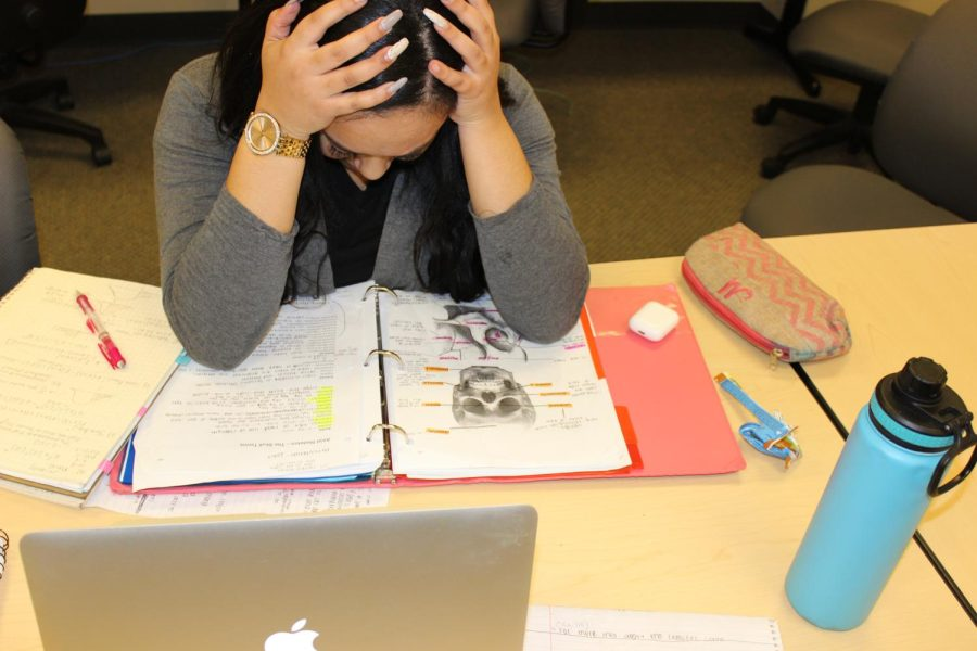 Students are being burned out by the amount of work they do for school. While the World Health Organization states that burnout syndrome is a