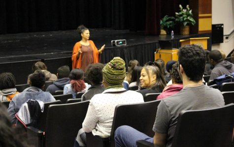 Keynote speaker kicks off the first Black History Month event