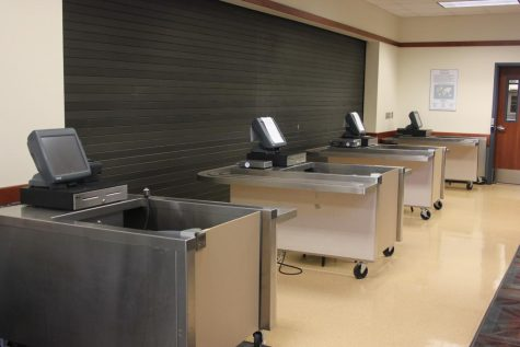 The CRC cafeteria, Aramark, was closed due to health and safety issues. A drainage issue led the cafeteria to close their kitchen on Monday.