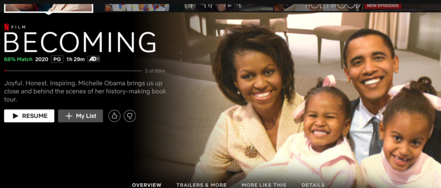 Michelle+Obama+tells+her+story+in+Netflix+Documentary