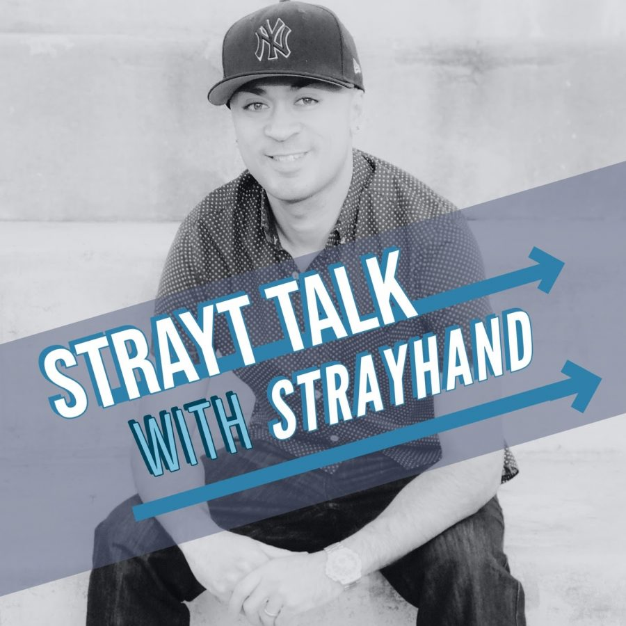 """Strayt Talk with Strayhand,"" hosted by Oddie Strayhand, is a weekly podcast series based in Elk Grove, Calif. The podcast aims to highlight local and national athletic and business success stories and is currently streaming in 14 countries."