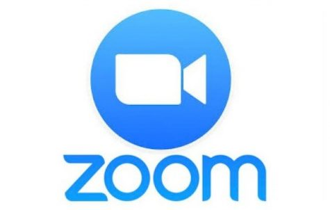 Zoom logo that students across the world have grown accustomed to.