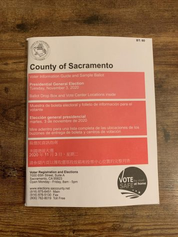 The County of Sacramento Voter Information Guide. Election day is less than a week away.
