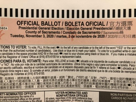 Fill in the bubbles on your ballot before Nov. 3. Early voting in Calif. has officially begun.