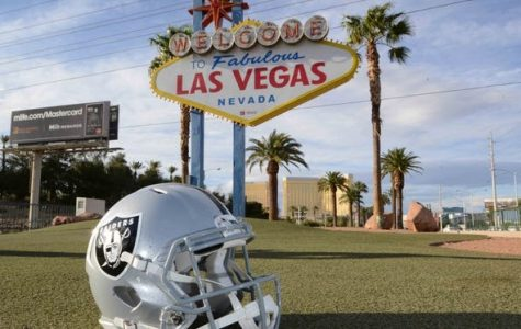The silver and black in their new home of Las Vegas.
