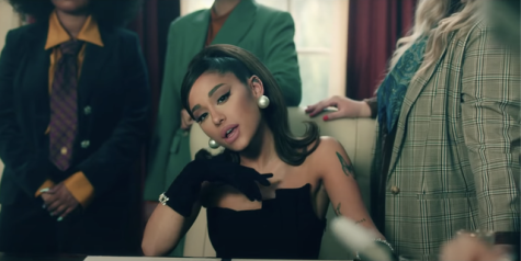 "Ariana Grande becomes president in her new music video ""Positions."" Her sixth album is out now."