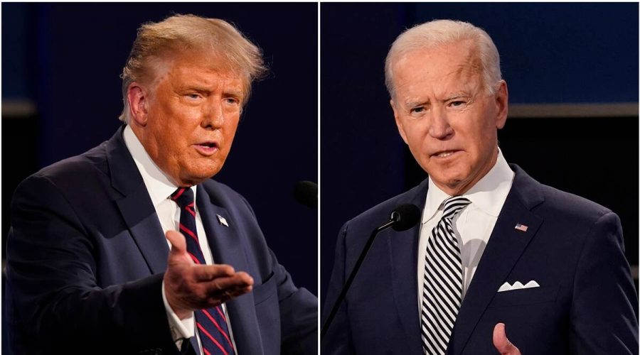 President Donald Trump and Joe Biden faced off in 2020, with Biden as the projected winner. The 2020 Election has yet to be concluded as senate races and state initiatives are still being declared.