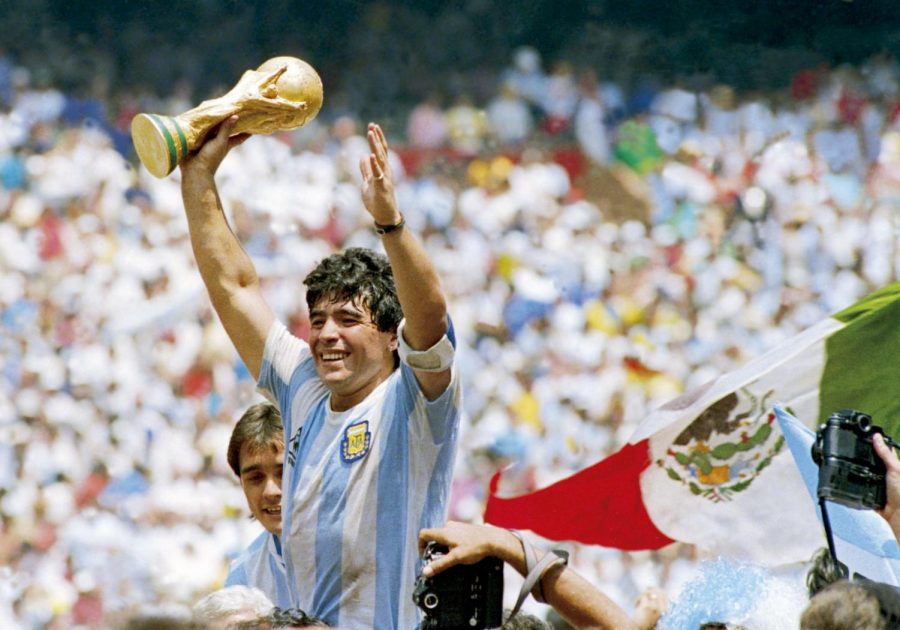 Thank you, Maradona