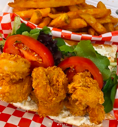 Now more than ever, it's important to support our local restaurants. Picture of PoBoys taken from Louisiana Heaven's Instagram page. They offer a variety of meat options and also a vegetarian option.