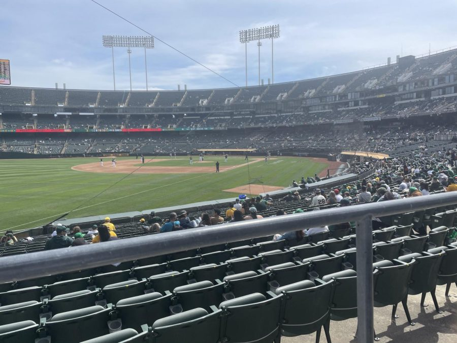 Connection staff writer Alejandro Barron attended an Oakland A's game against the Houston Astros on April 4. Barron talks about the different protocols put in place at the game and the overall experience of going to a baseball game in the midst of COVID-19.
