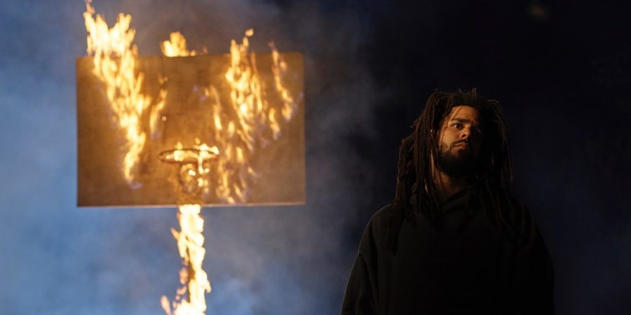 Album cover for J. Cole's sixth album,