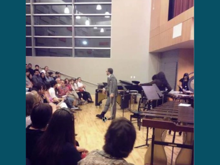 On Sept. 17, CRC Music In the Studio held an event with special guest Gabriel Rivera, whose the music departments instructional assistant. Rivera discussed about his role with the In the Studio series and his achievements.
