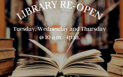 The CRC library will be open part time this fall semester on Tuesday, Wednesday and Thursday from 10 a.m. to 4 p.m. The library will continue to have online services as well as on-ground services.