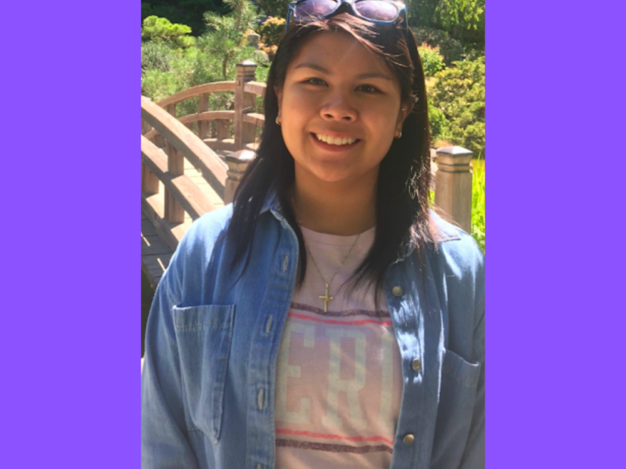 Cosumnes River College student and candidate Francheska Delara. Delara is running for the Student Senate President position.