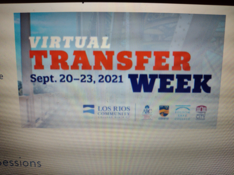 Virtual transfer week begins on the week of Sept. 20-23. Virtual transfer week will have Zoom sessions with representatives from many four-year colleges and universities interacting with Los Rios students with each of the four days having their own theme.